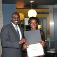 "Solomon with Sherissa Griffiths of Randolph H.S. • <a style=""font-size:0.8em;"" href=""http://www.flickr.com/photos/78140644@N03/7264483906/"" target=""_blank"">View on Flickr</a>"